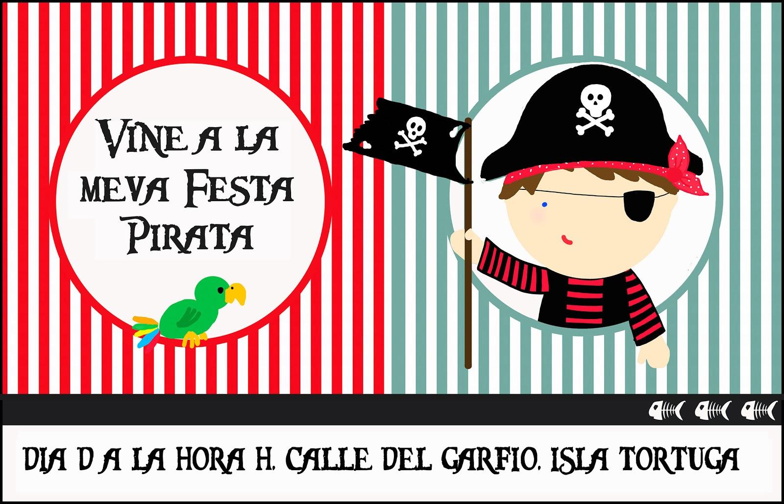 De puntadas y otros enredos: Fiesta pirata