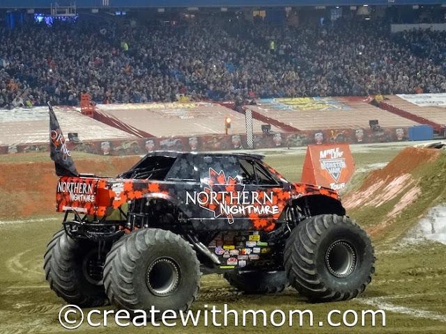 monster jam truck