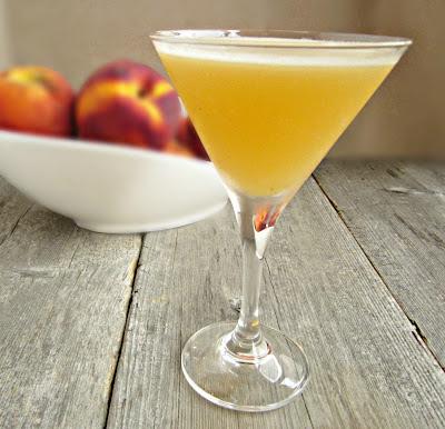 Peachy Martini