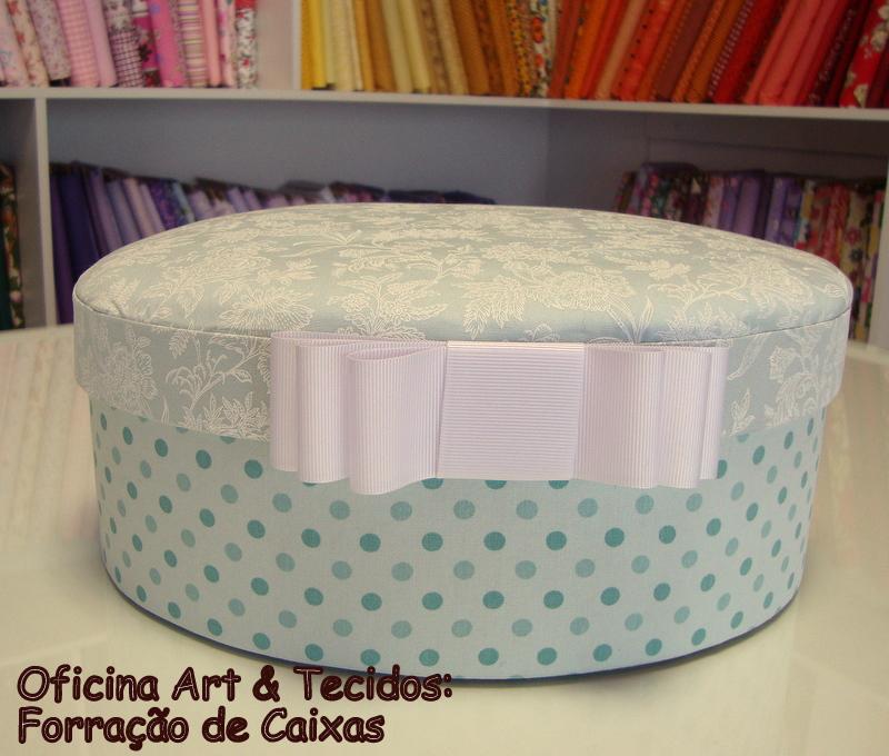 Armaz m art tecidos oficina forra o de caixas for Oficina de caixa