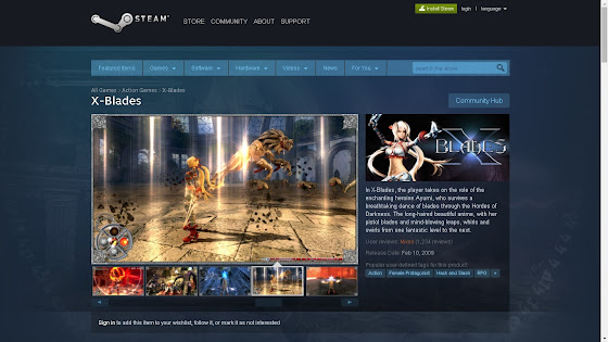 X-Blader In STEAM