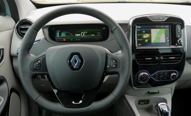 Renault Zoe EV cockpit