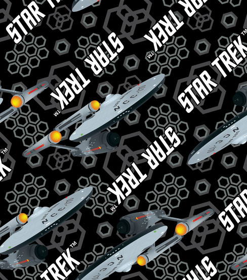star trek material In the original star trek (ie, the series featuring william shatner and leonard nimoy), the term tritanium was coined to describe the principal material used in the construction of the hull of the enterprise.