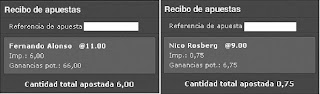 Apuestas Deportivas Rosberg Formula 1 – Gran Premio de Brasil/Interlagos Alonso Bet365
