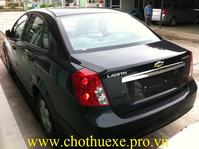 Cho thuê xe 4 chỗ Chevrolet Lacetti EX uy tín