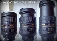 Nikon AF-S DX 16-85mm f /3.5-5.6G ED VR