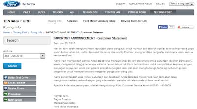 Ford Indonesia Mundur Dari Tanah Air Pada Tahun Ini!