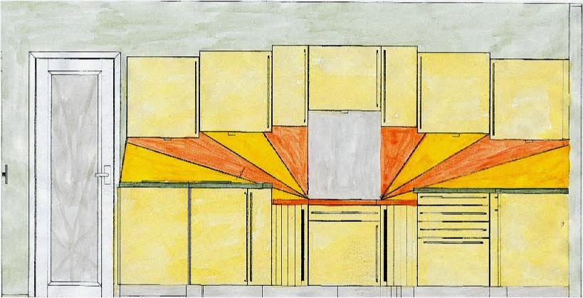 Art deco kitchen design for Art deco interior design colours