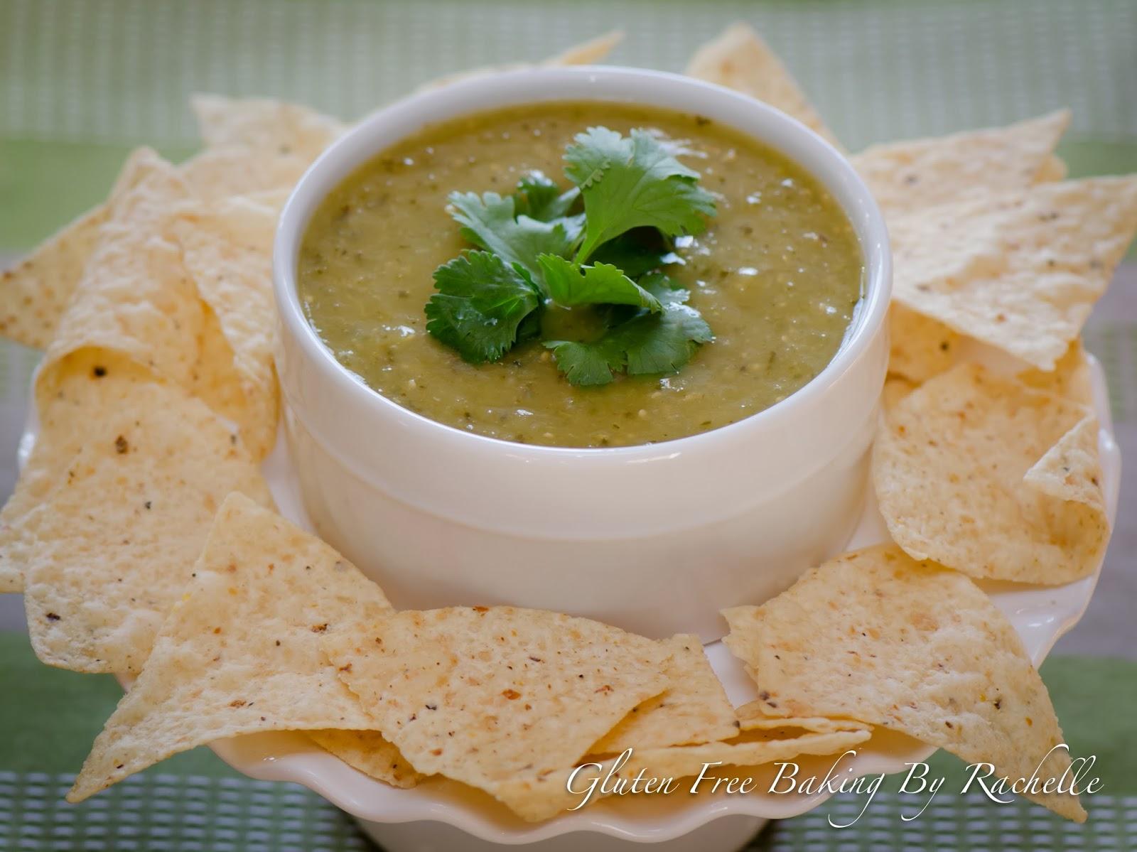 Gluten Free Baking By Rachelle: Roasted Salsa Verde