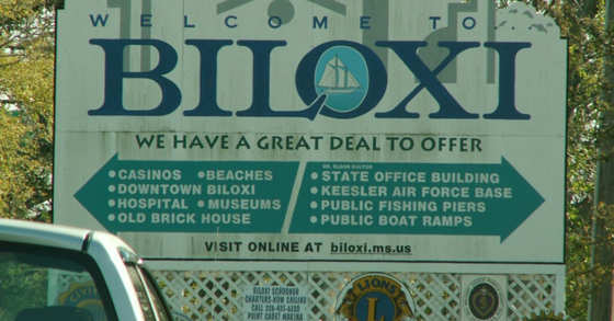 "Plaintiff Qumotria Kennedy in the ACLU suit writes, ""Biloxi locked me up for being poor.""  (Photo:  kmcochran/flickr/cc)"