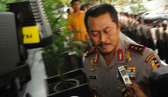 Wakapolri Komisaris Jenderal Polisi Nanan Sukarna