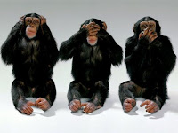 The three monkeys of government