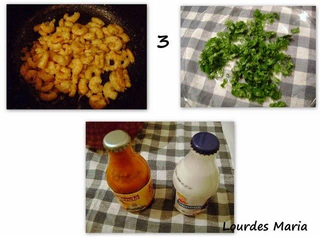 Mandioca, camarão e azeite de dende, uma deliciosa mistura, LM.