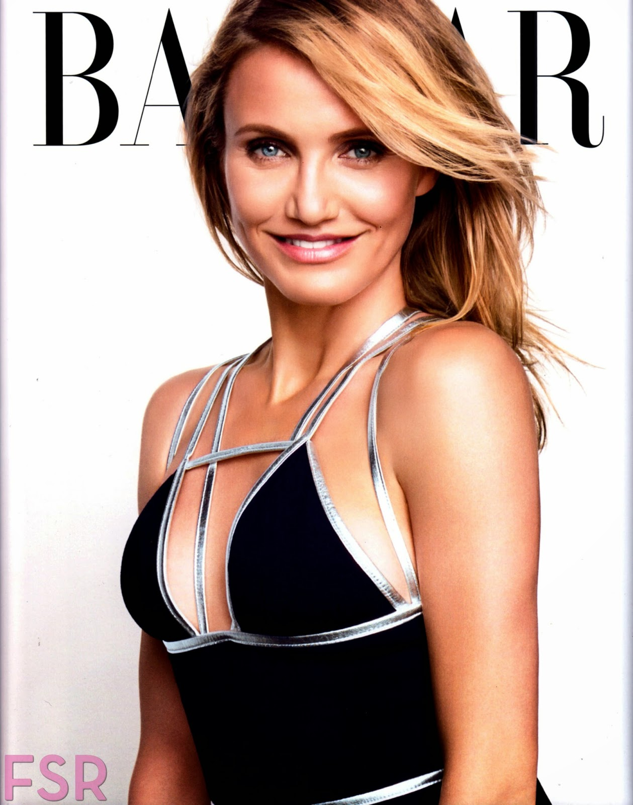 Cameron Diaz covers Harper's Bazaar US August 2014