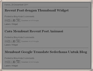 home page, menampilkan judul saja di home page, menampilkan judul saja di halaman depan, blog title, judul artikel