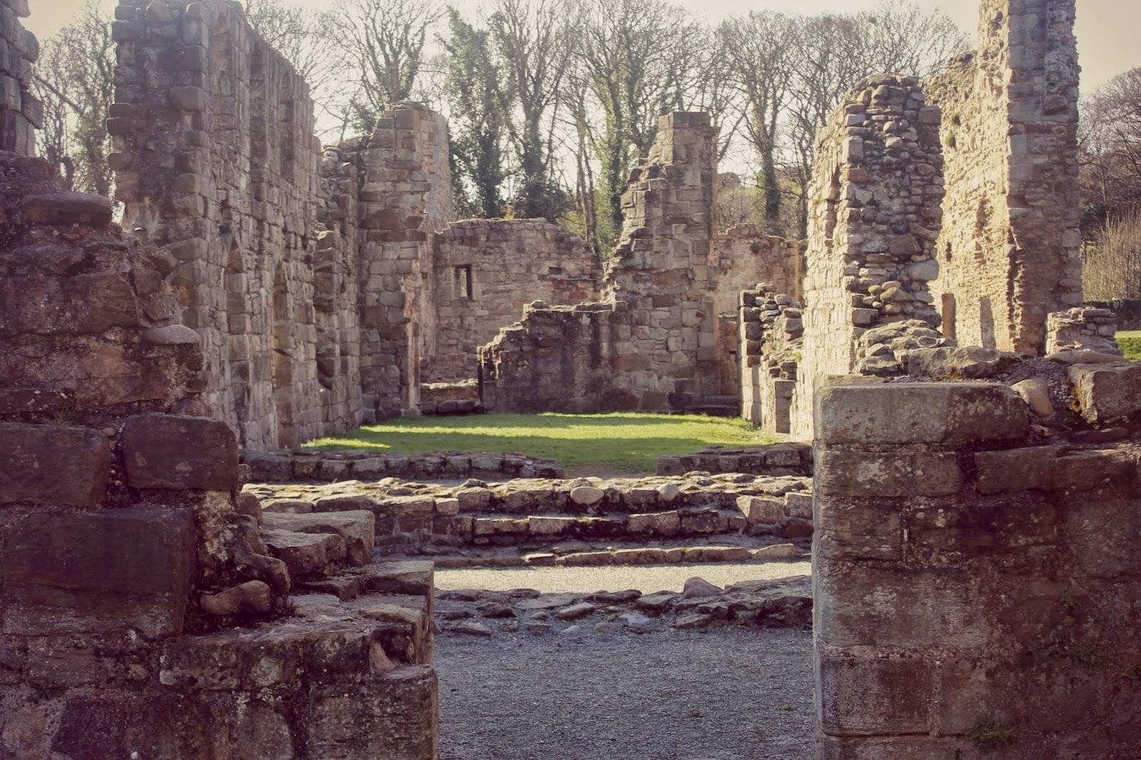 wales basingwerk abbey