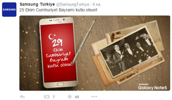 samsung-29-ekim-sosyal-medya-paylasimi