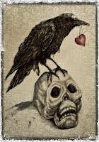 Free Printable: Raven & Skull