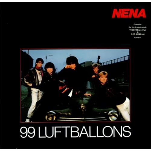 ... da 99 Luftballons/99 Red balloons