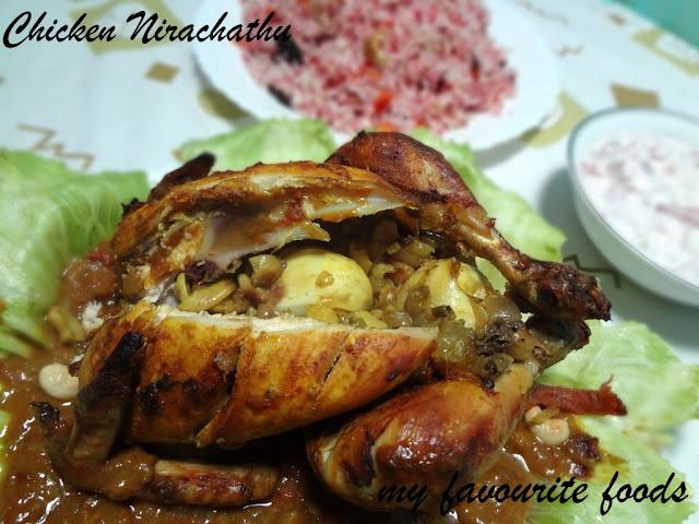 Chicken Nirachathu