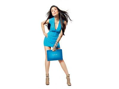 Kareena Kapoor smiling In Ra-One Wallpaper