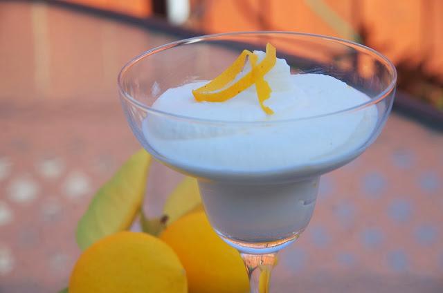 Zitronen Ricotta Mousse