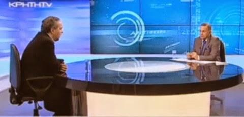 Συνέντευξη του Ν. Λυγερού στο Κρήτη TV, 21/02/2014.