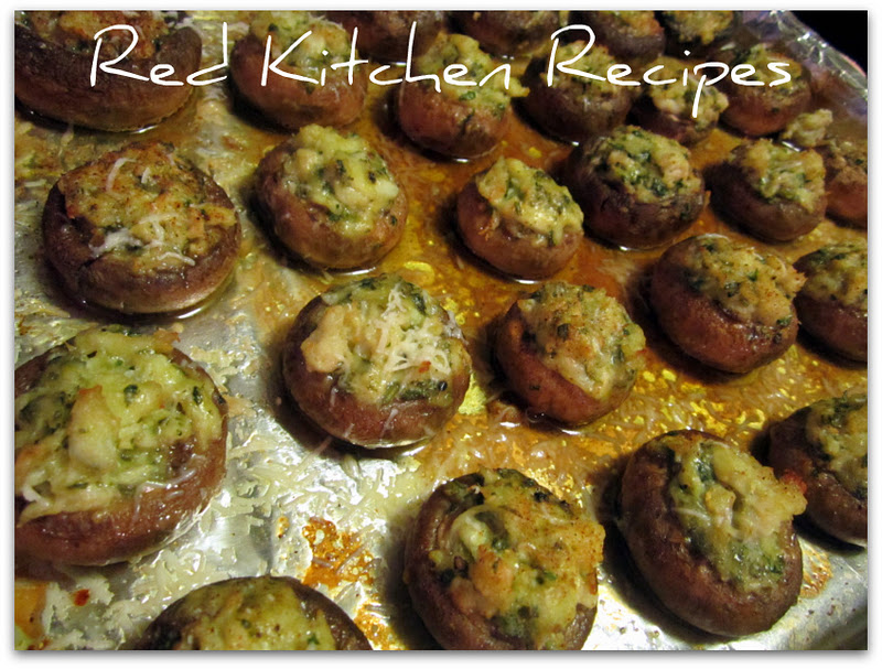 how to cook crab stuffed mushrooms from kroger