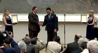 Echecs à Moscou : Boris Gelfand et Vishy Anand - Photo © http://moscow2012.fide.com