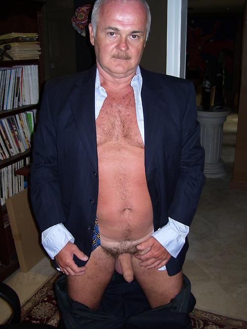 hot sexy men - uncut daddys cock