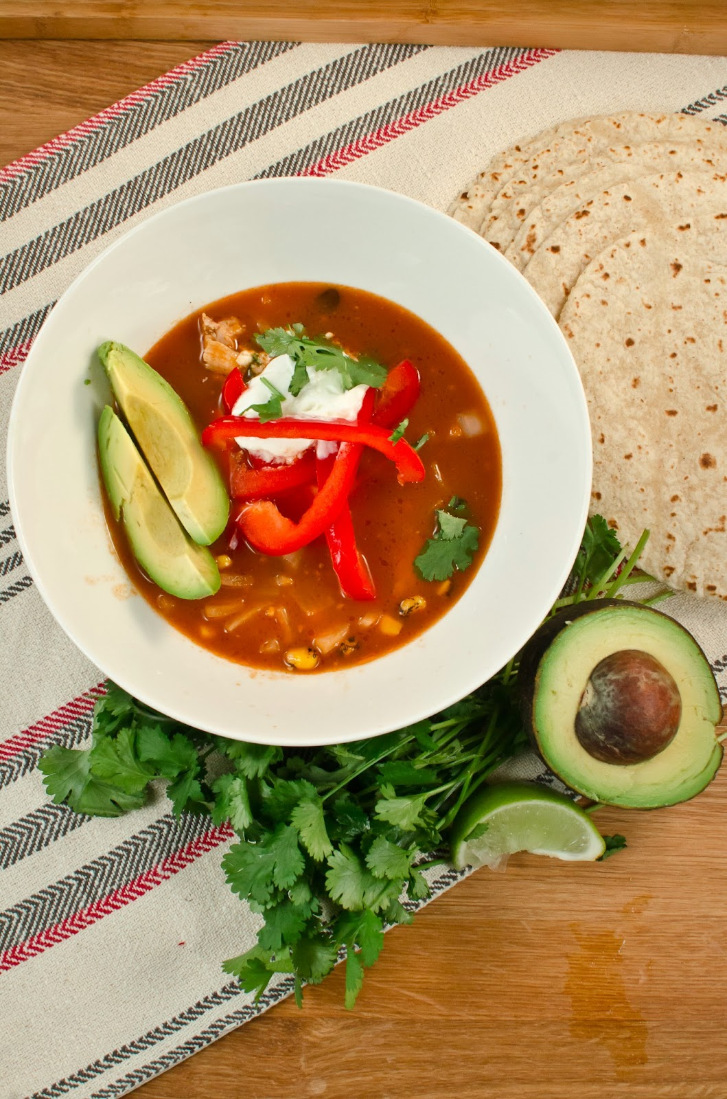 Easy chicken tortilla soup margaritas in the rain easy chicken tortilla soup forumfinder Images