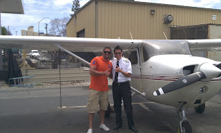 flight school first solo