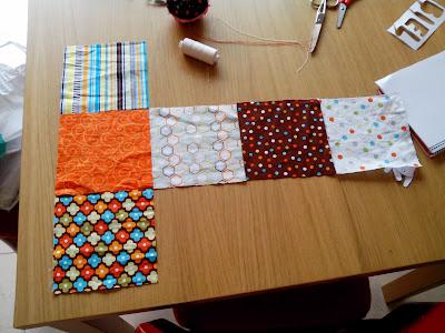 dado de tela, dado patchwork, modistilla de pacotilla