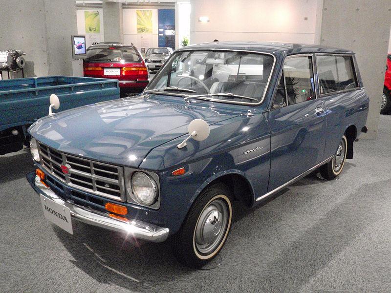 Honda L700, klasyk, rzadki okaz, ciekawe stare samochody, JDM, fotki