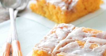 Cooking Recipes: Cinnamon Roll Pumpkin Vanilla Sheet Cake