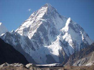K2 Mountain Photo: K2 mountain in Pakistan