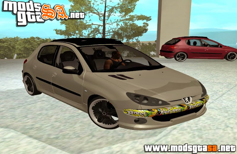 SA - Peugeot 206 Sticker Edit