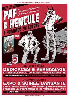Lancement de Paf & Hencule le samedi 20 décembre 2014 !