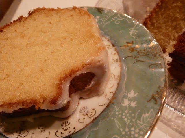 Cake au yaourt & à l'eau de fleur d'oranger