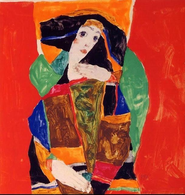 Egon Schiele, (1890 - 1918) Egon+Schiele+-+Tutt%2527Art%2540+%25281%2529