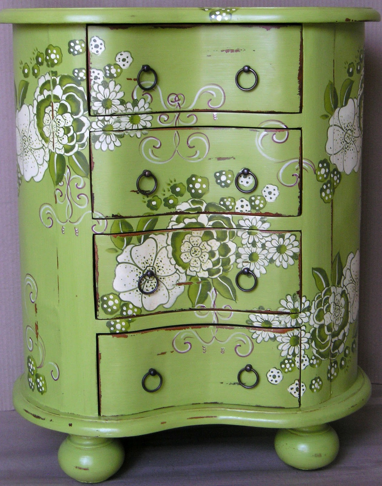 Lock stock and barrel furniture hand painted shabby chic for Hand painted furniture ideas