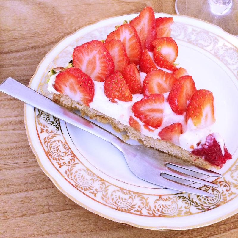 tarte à la fraise de chez Mona  Bordeaux