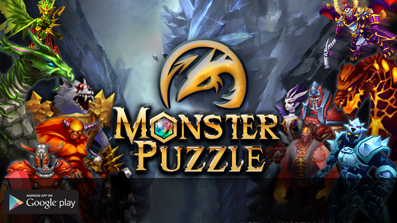 Monster Puzzle 3D MMORPG Gameplay Android