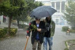 Βλέποντας μια εμβληματική φιγούρα υπό καταρρακτώδη βροχή... εν Σιωπή και Περισυλλογή!