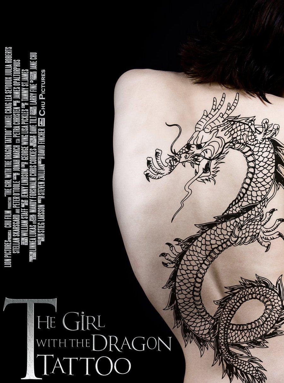 девушка с татуировкой дракона 2 2009