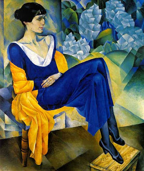 Altman 'Portrait of Anna Akhmatova' (1914)