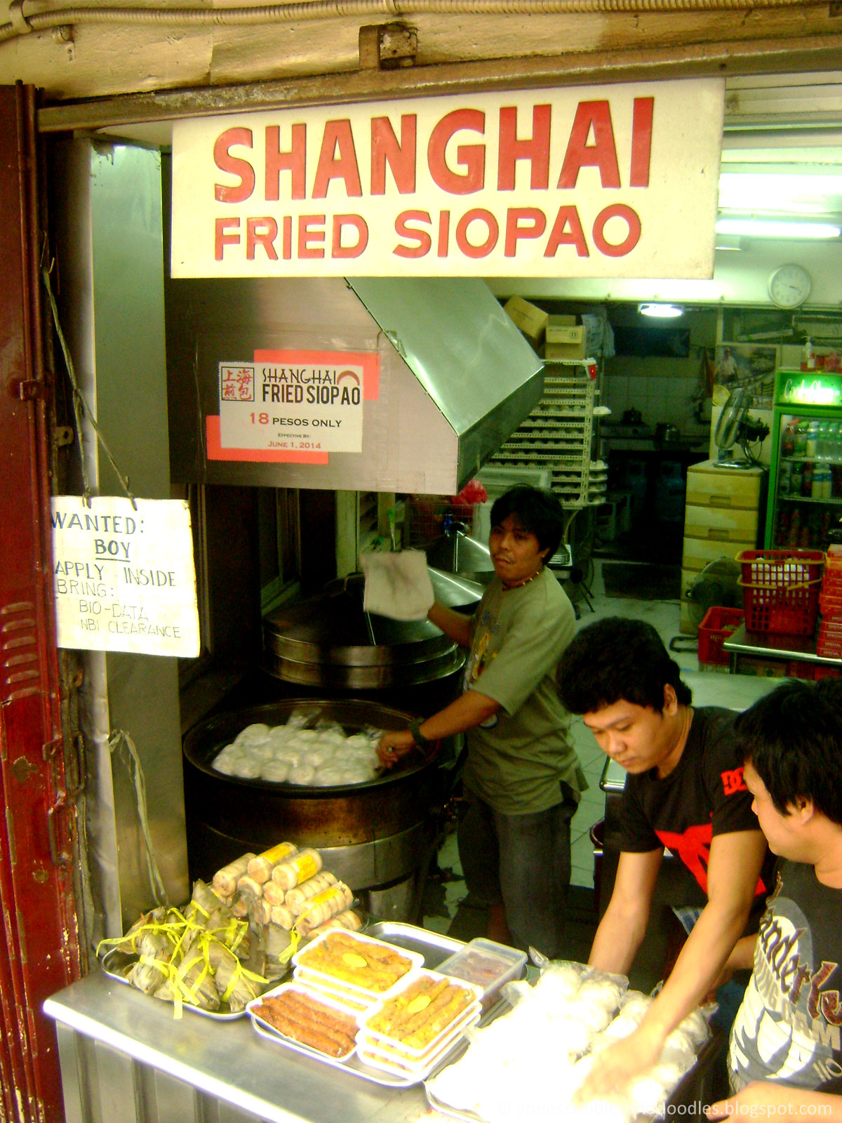 Binondo Manila Chinatown: Shanghai Fried Siopao