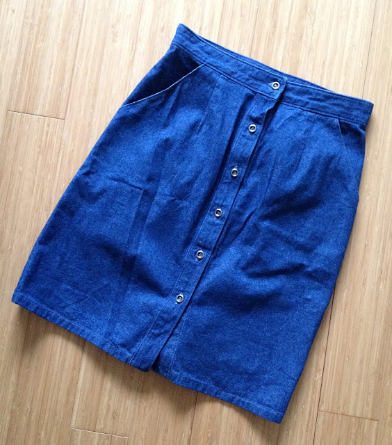 Diary of a Chain Stitcher: Denim McCalls 6696 Skirt