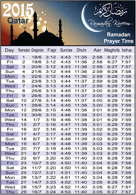 2015 ramadan prayer schedule new calendar template site. Black Bedroom Furniture Sets. Home Design Ideas