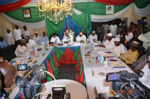 Photos from Northern states of Nigeria governors meeting